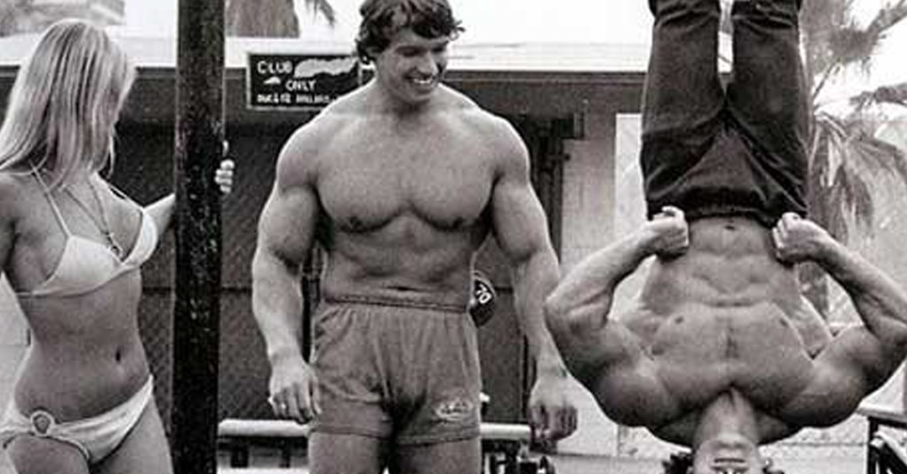 Arnold and friends