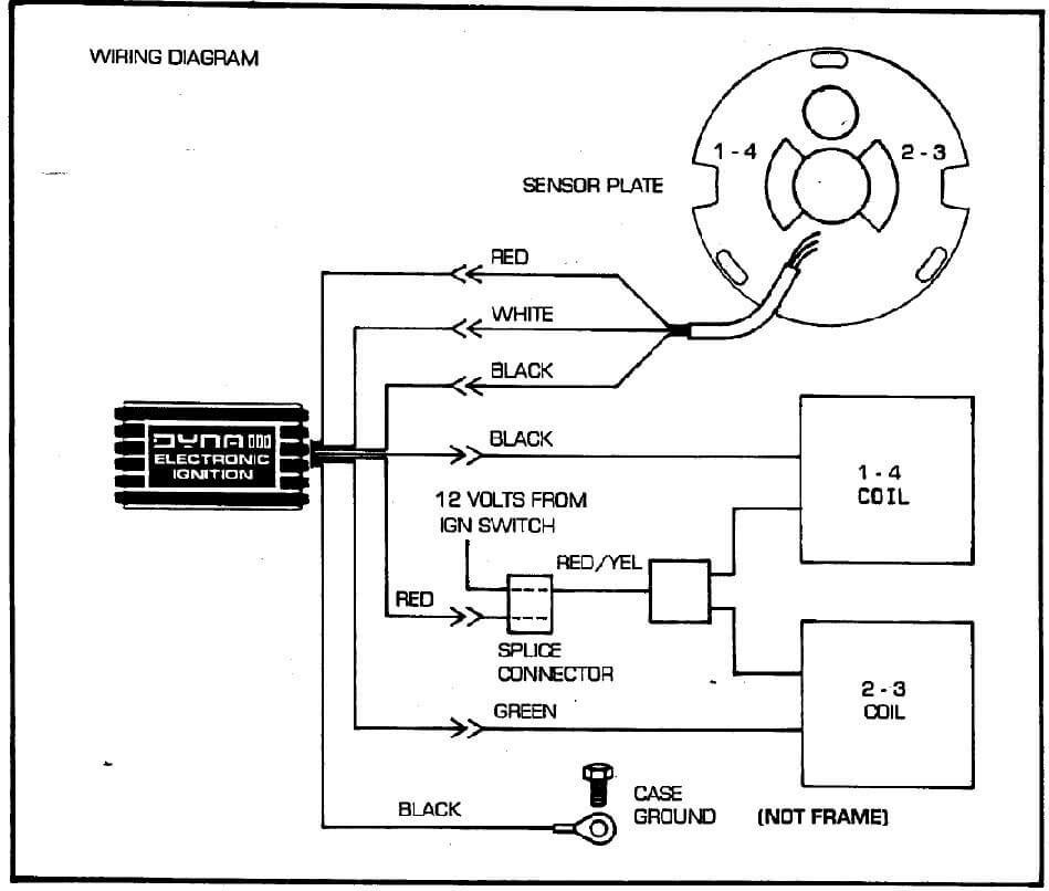 Harley Dual Fire Coil Wiring Diagram