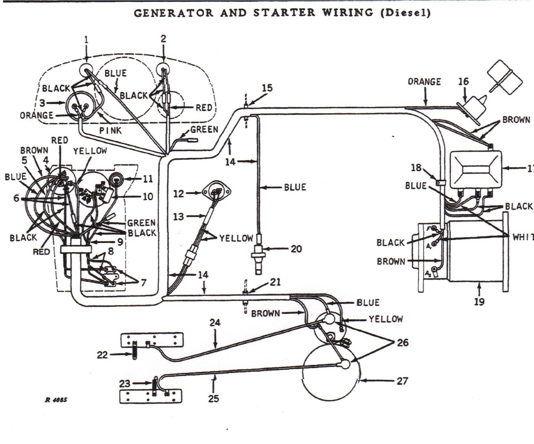 Wiring Schematic For John Deere