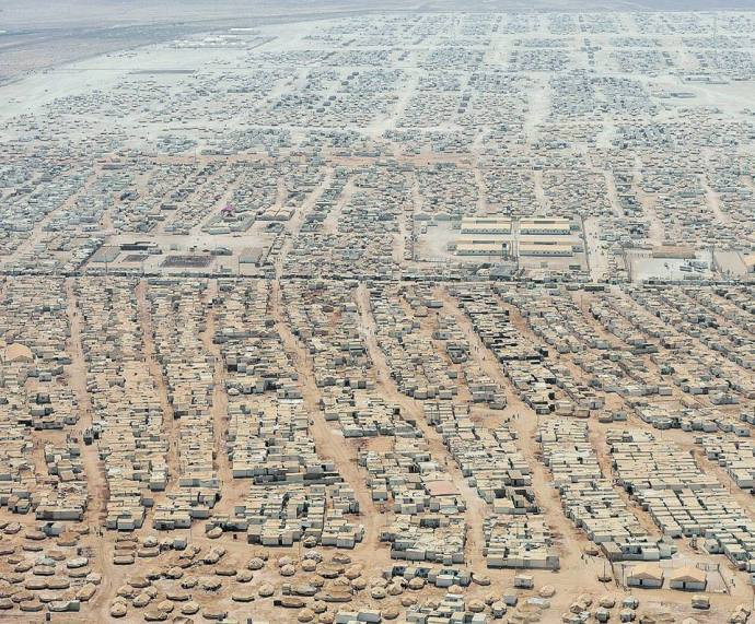 Refugee camp in Jordan_Aug2015