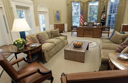 New Oval Office