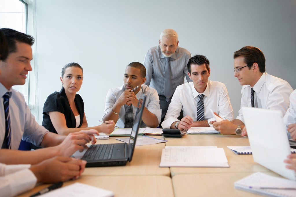 collaborative divorce team with mediator