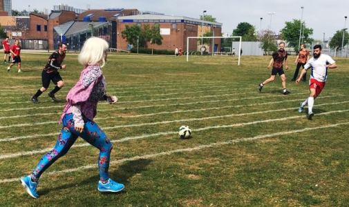 Holly from Holland Refereeing for the Triple May Holly-Day