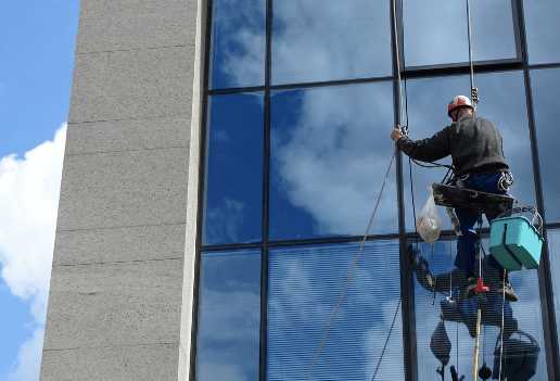 Window Washer, symbol of time management
