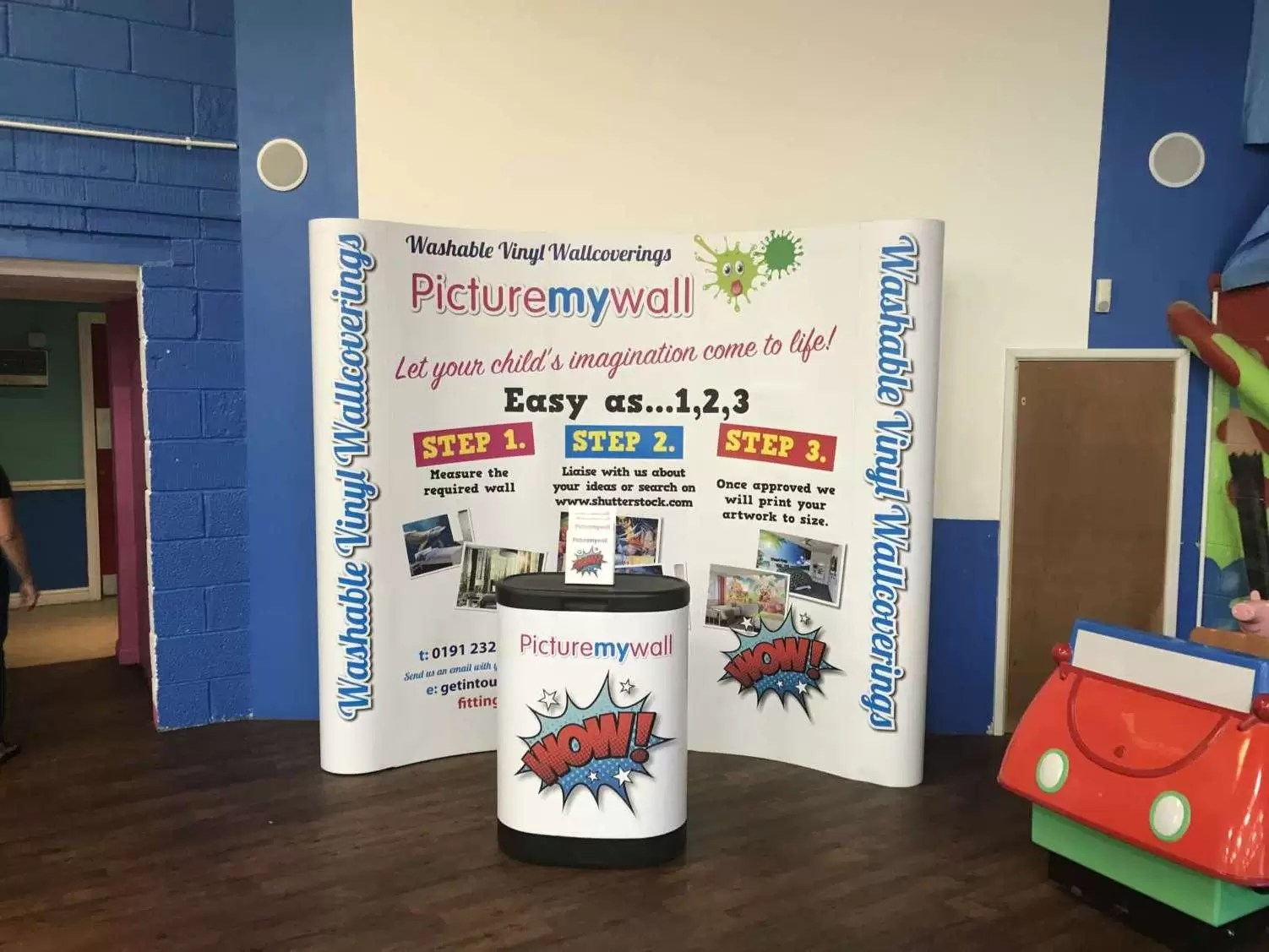 3x3 Exhibition & Display Stand
