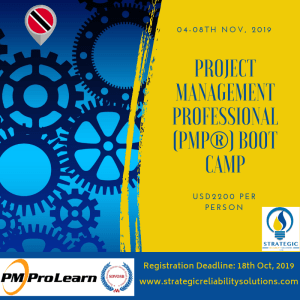 PMP® Boot Camp @ The House of Angostura, Trinidad & Tobago