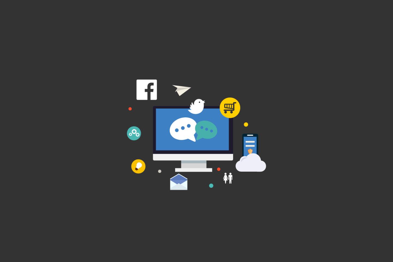 Réseaux sociaux. Social media. Image : http://all-free-download.com/