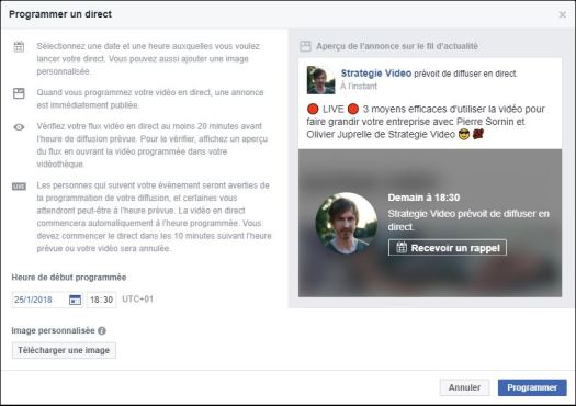 Comment faire un Facebook Live