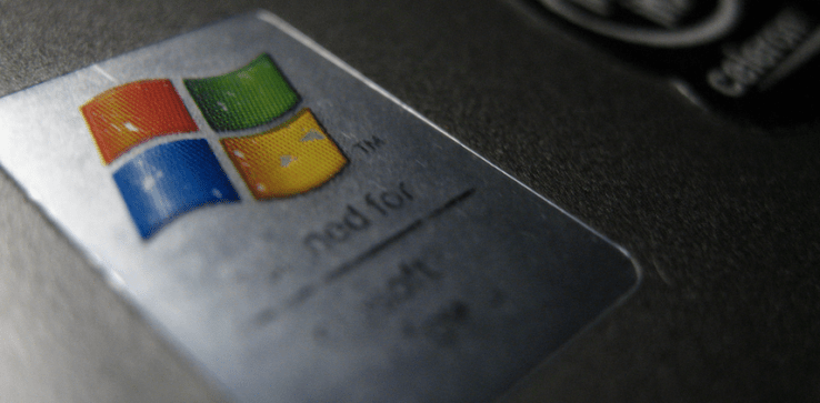 Windows XP's Market Share Fell By Less Than 1% In August  9