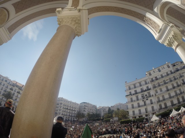 GoPro picture of Algiers Protest (09/01/2019)