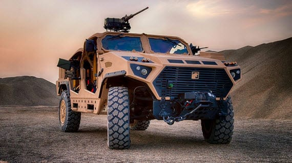 Nimr Ajban Long Range Special Operations Vehicle 1