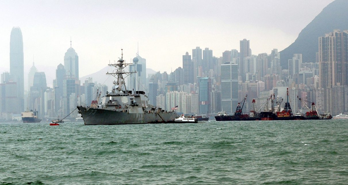 Urgent :  China denies two US Navy Warships permission to dock in Hong Kong/ La Chine refuse d'autoriser l'escale de deux navires de guerre US à Hong Kong 1