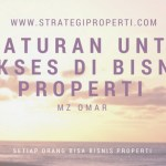 10 Aturan Untuk Sukses Di Bisnis Property