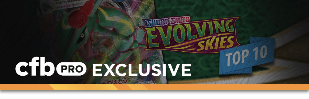 The Top 10 Competitive Evolving Skies Pokemon TCG Cards