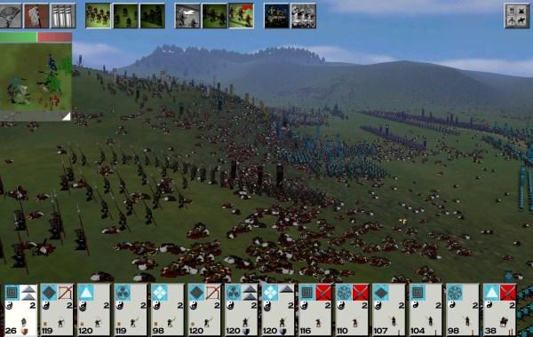 Shogun Total War battle