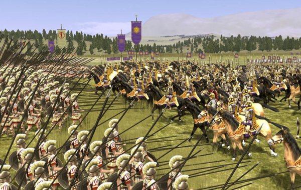 Rome Total War Alexander Cavalry