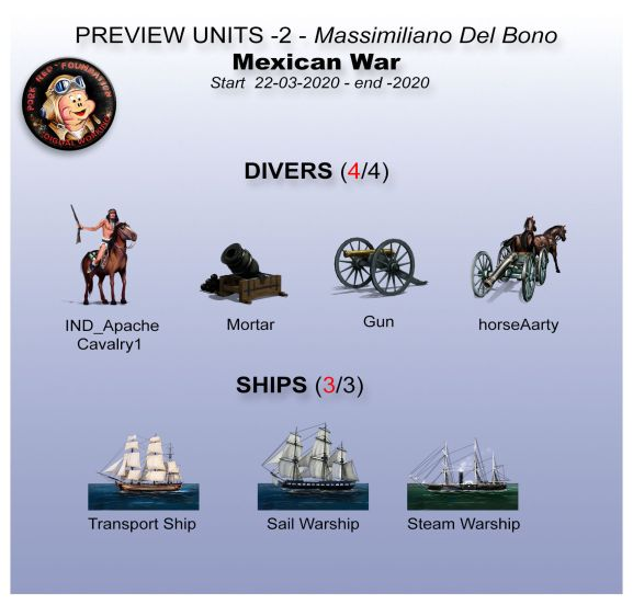 Strategy Game Studio - Mexican-War - Units 2 preview