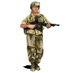 SGS Indochina - French infantry