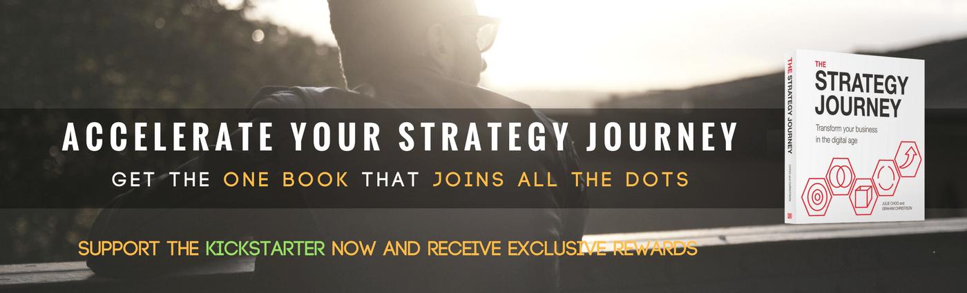 THE STRATEGY JOURNEY Kickstarter Campaign