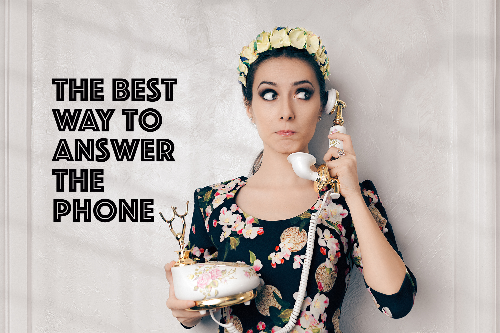 The Best Way To Answer The Phone  Strategy Lab Marketing