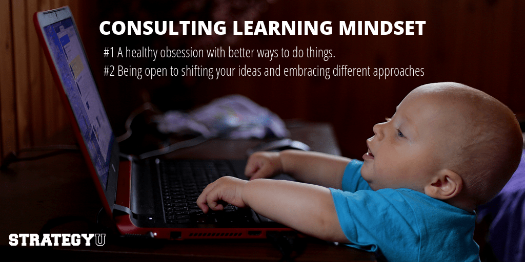 Strategic Consulting learning mindset