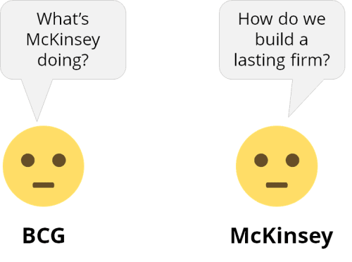 Overheard at McKinsey and BCG