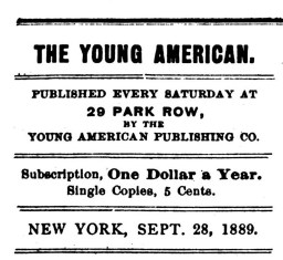 Young American 1889