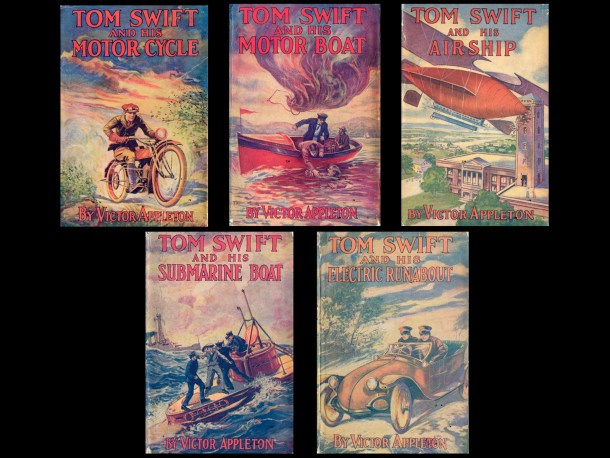 First Five Tom Swift Books