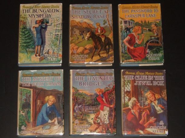 early Nancy Drew books