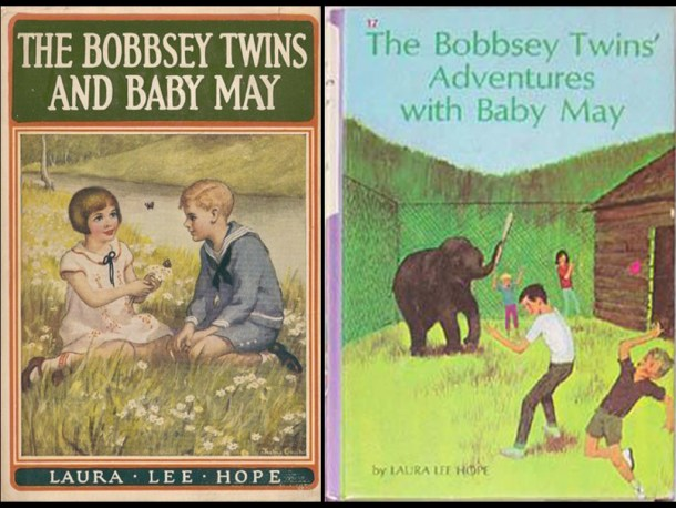Bobbey Twins and Baby May