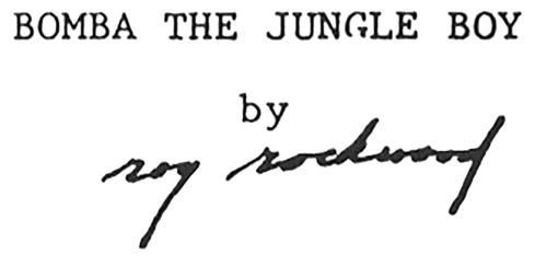 Roy Rockwood signature