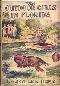 Outdoor Girls in Florida with angry manatee on cover