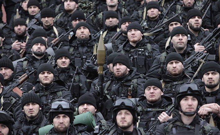 Çeçen xüsusi təyinatlıları Suriyada: