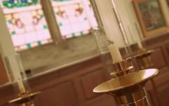 A detail of The Guild Chapel, Stratford-upon-Avon ©Stratfordblog.com