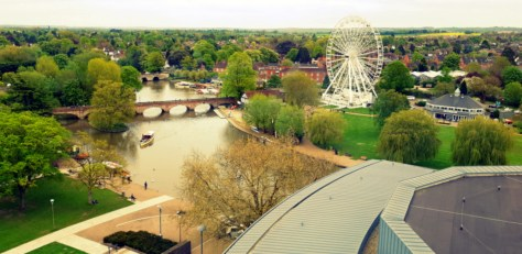 A view from the RSC Tower ©Stratfordblog.com