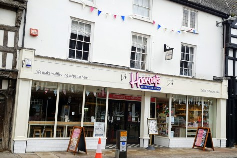 Hooray's British Gelato Kitchen, one of the top 5 places for a sweet treat in Stratford-upon-Avon ©Stratfordblog.com