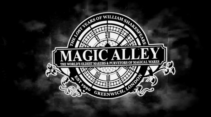 A peek at the new Magic Alley in Stratford-upon-Avon ©Stratfordblog.com