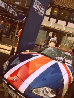 A jaguar at the Stratford Festival of Motoring ©Stratfordblog.com