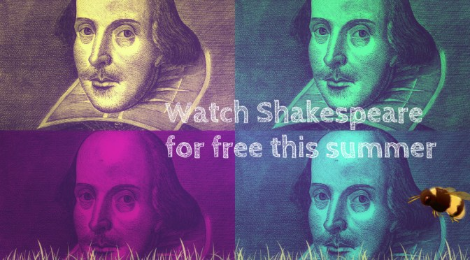 Watch Shakespeare for free outdoors this summer