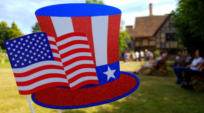 Fourth of July at Hall's Croft ©Stratfordblog.com