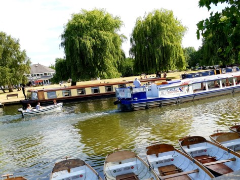 Get on the River Avon to cool down in Stratford-upon-Avon ©Stratfordblog.com