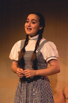 Matilda Bott at Dorothy in The Wizard of Oz at The Attic Theatre