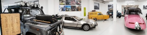 "The ""star cars"" at the British Motor Museum ©Stratfordblog.com"