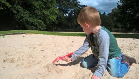 The sandpit at Compton Verney ©Stratfordblog.com