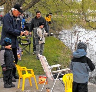 Optimist Trout Derby 2012