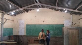 Lights in Mandrade School