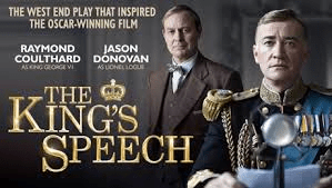 Theatre Review The Kings Speech