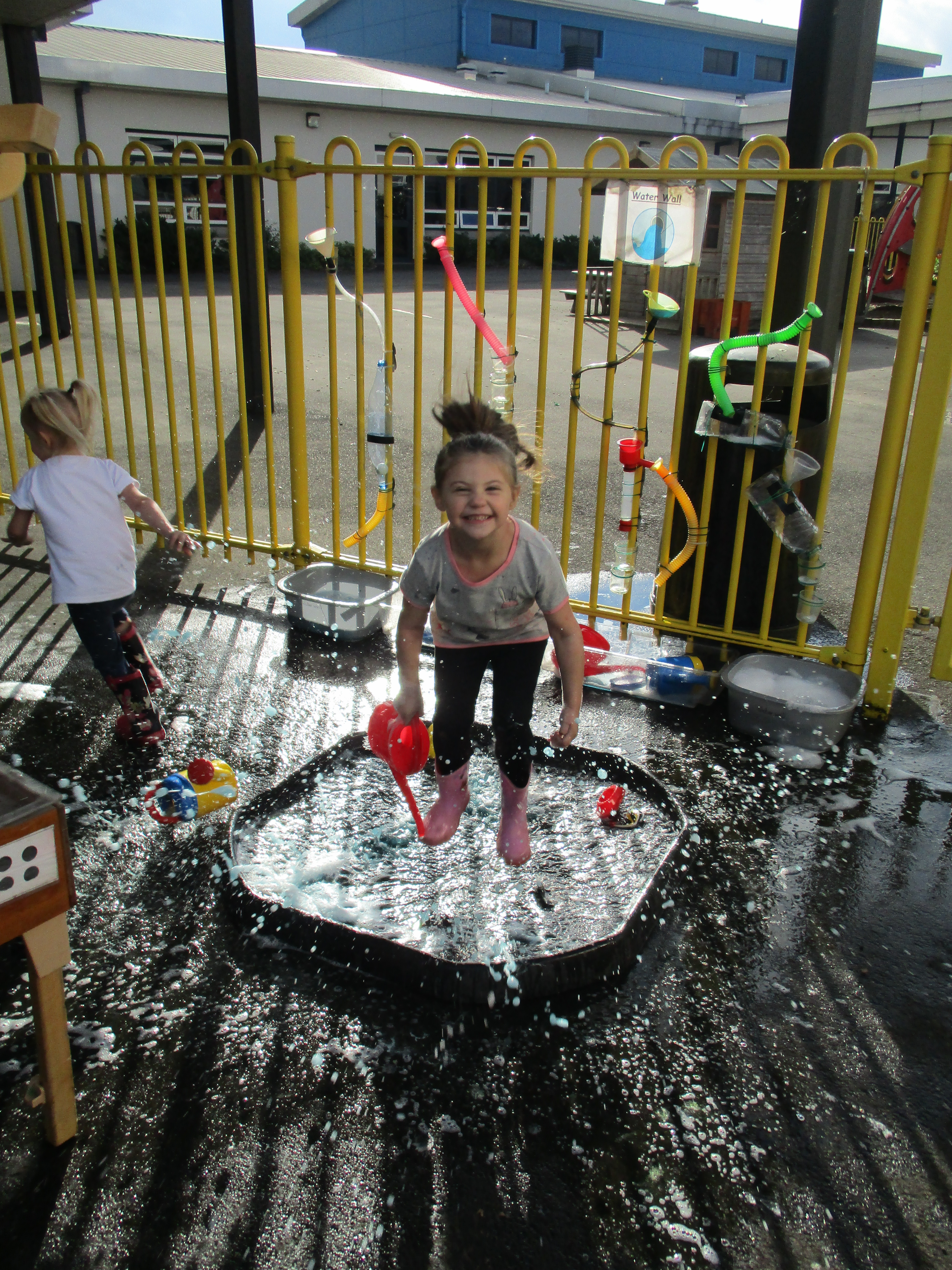 Nursery Sand And Water Play Strathesk Primary School