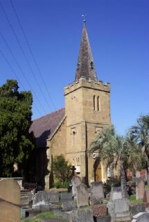 St Thomas Anglican Church Enfield: Photo: Cathy Jones (2004)