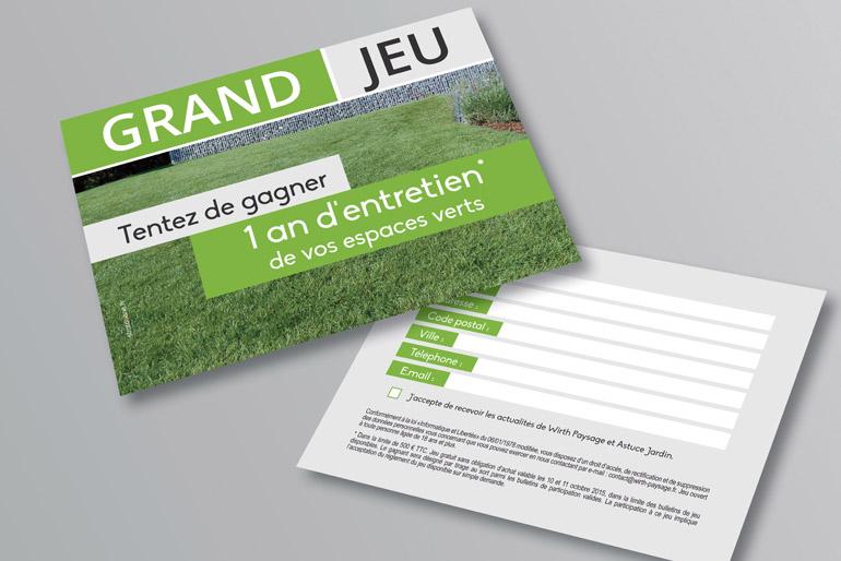 Stratogene  Agence de communication en Alsace  Communication globale pour un paysagiste
